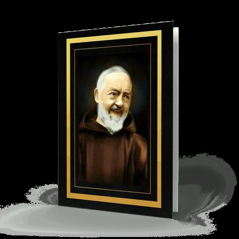 Saint Padre Pio Memorial Card