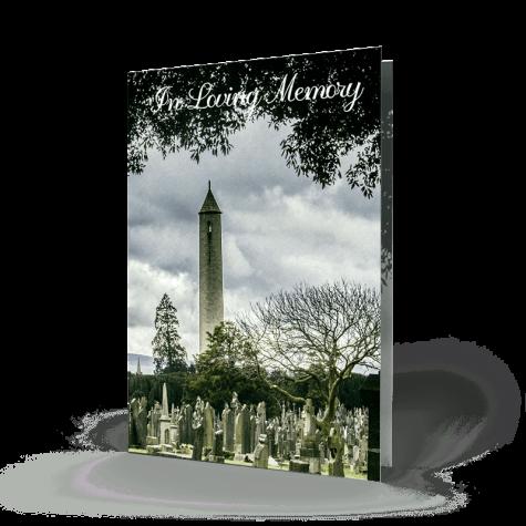 Dublin memorial cards 6 Glasnevin Cemetery