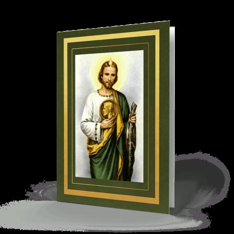 Saint Jude Memorial Card