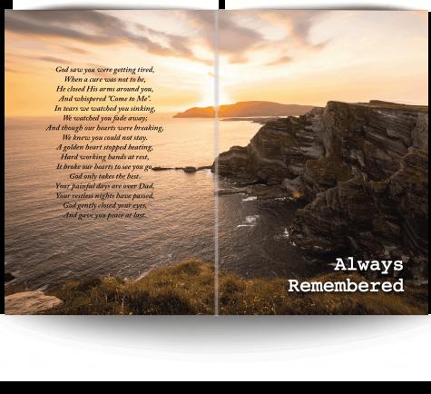 Kerry Memorial Card 4-02