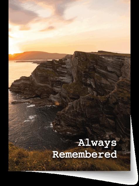 Kerry Memorial Card 4-03