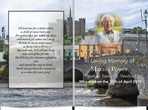 Wexford Memorial Card 4-01