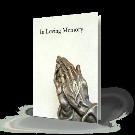 Memorial Card RMC27-01