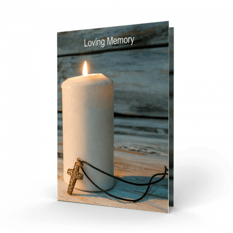 Memorial Card RMC29-01