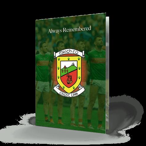 Memorial Card Mayo GAA