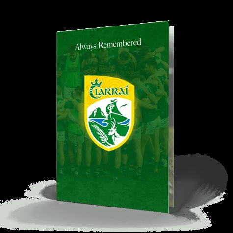 Memorial Card Kerry GAA