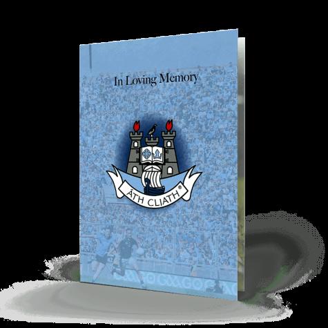 Memorial Card Dublin GAA