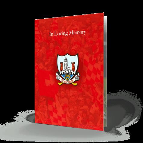 cork gaa memorial card