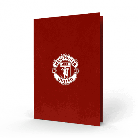 Manchester United Memorial Card