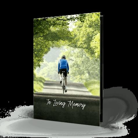 Cyclist Memorial Card