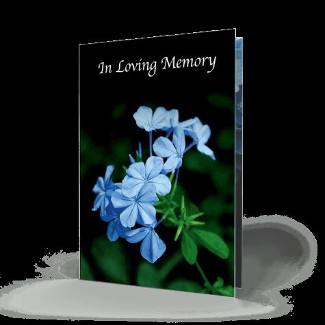 Memorial Card FMC-12