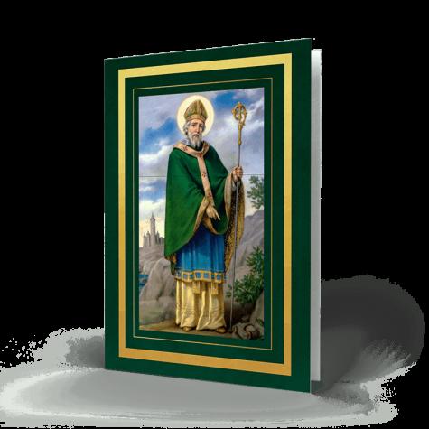 Saint Patrick Memorial Card