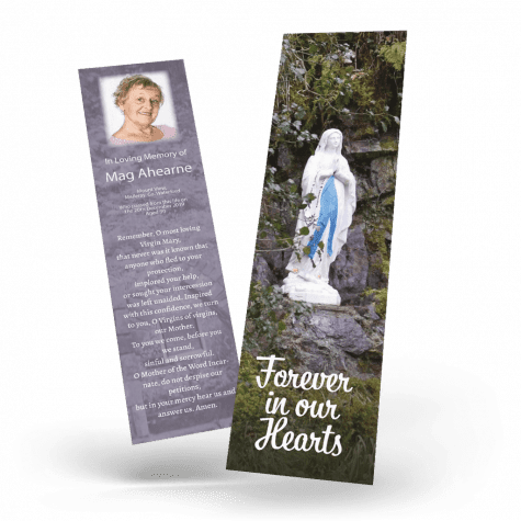 Our Lady Memorial Bookmark