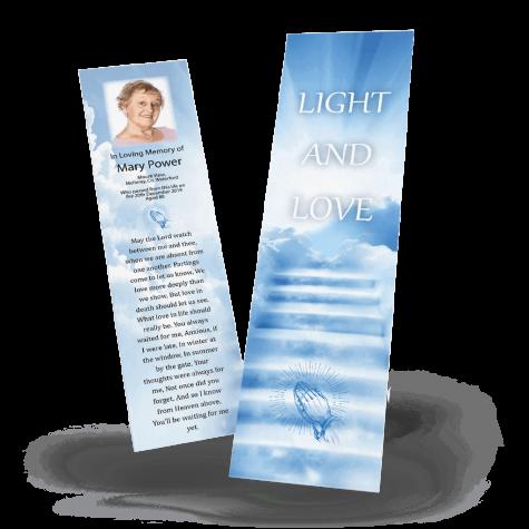 Spiritual Memorial Bookmark
