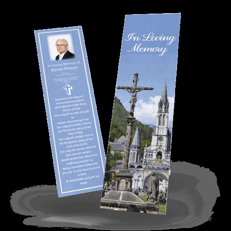 Lourdes Memorial Bookmark
