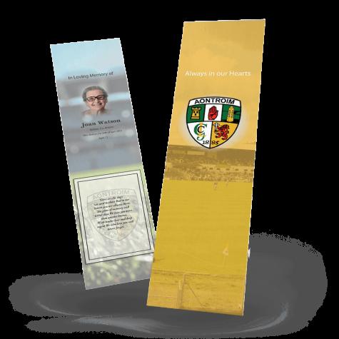 antrim memorial bookmark