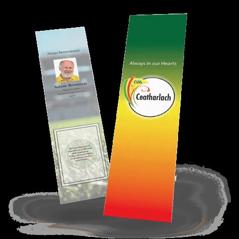 Carlow Memorial Bookmark