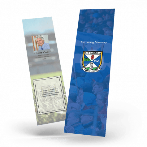 Cavan Memorial Bookmark