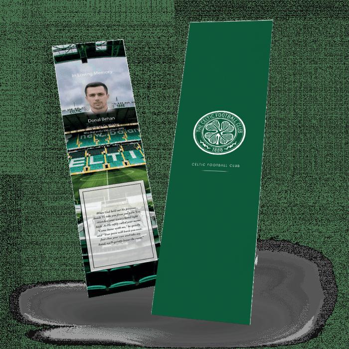 Celtic FC Memorial Bookmark