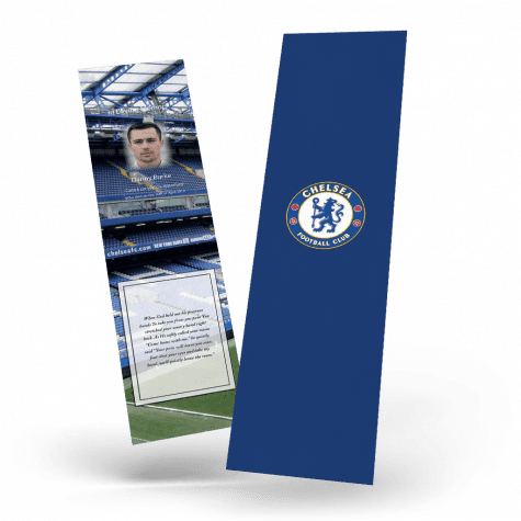 Chelsea FC Memorial Bookmark