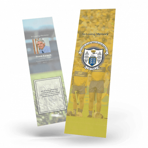 Clare Memorial Bookmark