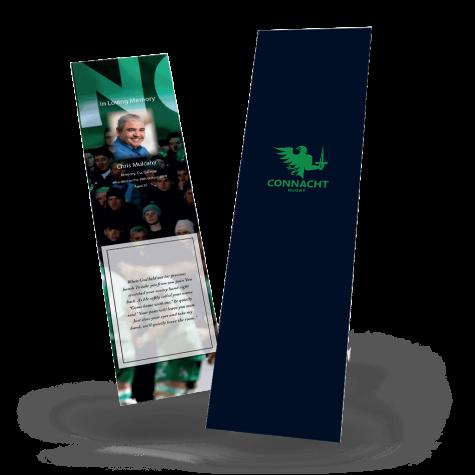 Connacht Rugby Memorial Bookmark
