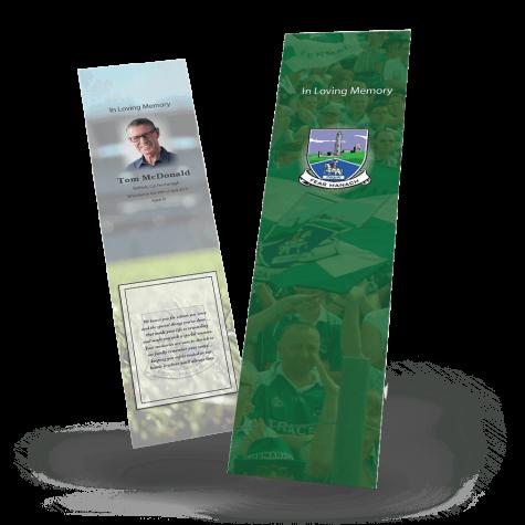 Fermanagh Memorial Bookmark