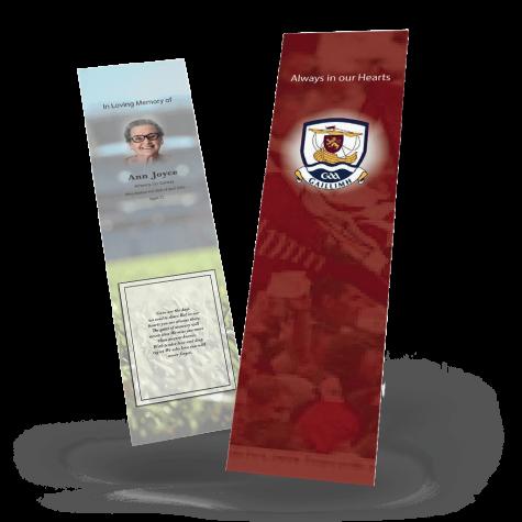 Galway Memorial Bookmark