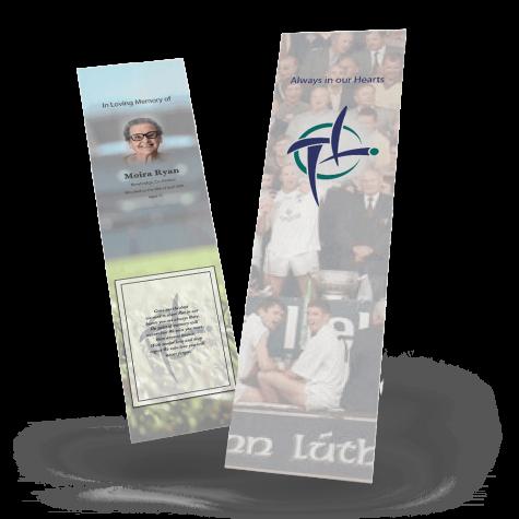 Kildare Memorial Bookmark