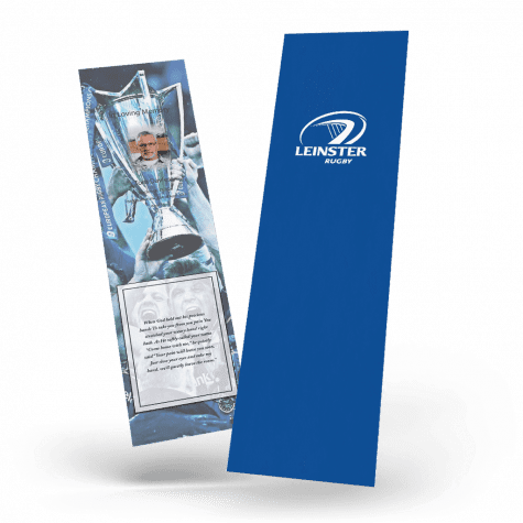 Leinster Rugby Memorial Bookmark
