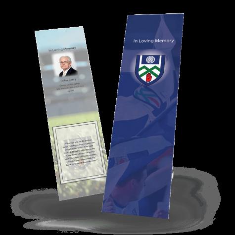 Monaghan Memorial Bookmark