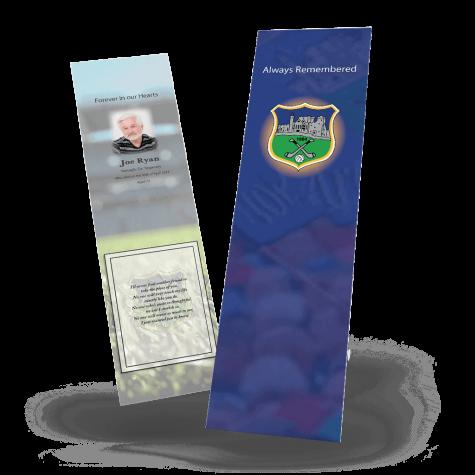 Tipperary Memorial Bookmark