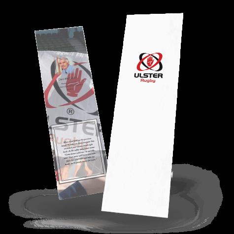 Ulster Rugby Memorial Bookmark