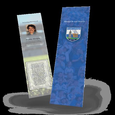 Waterford Memorial Bookmark