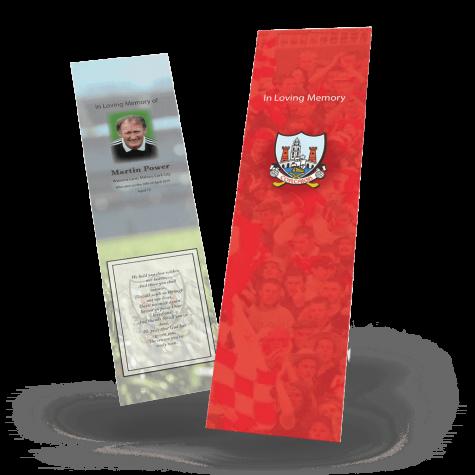 Cork Memorial Bookmark