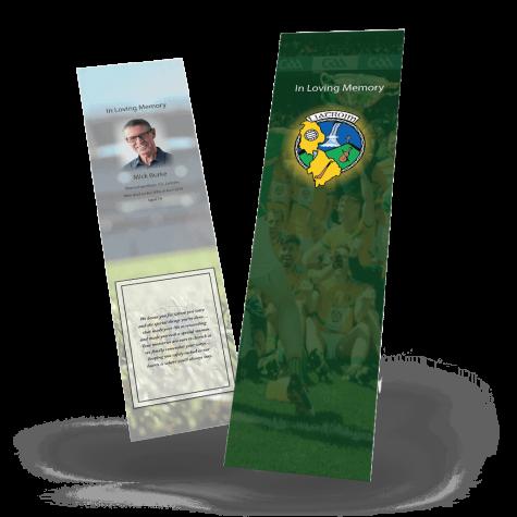Leitrim Memorial Bookmark
