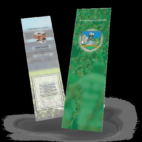 Limerick Memorial Bookmark