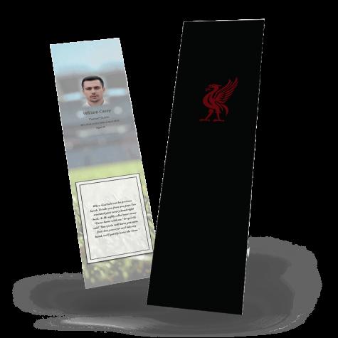 Liverpool FC Memorial Bookmark