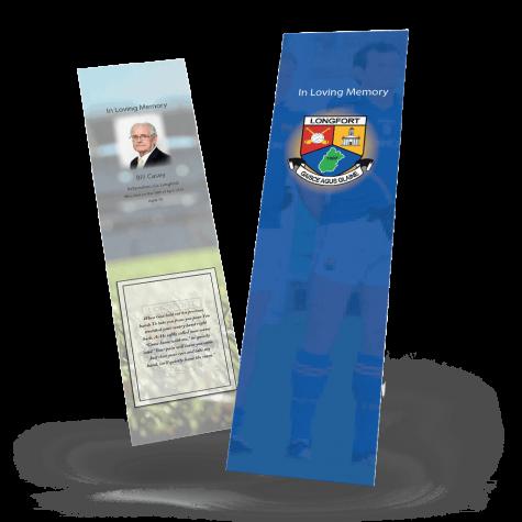 Longford Memorial Bookmark