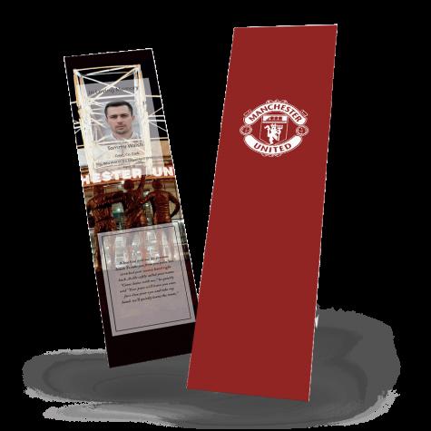Manchester United Memorial Bookmark