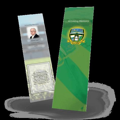 Meath Memorial Bookmark