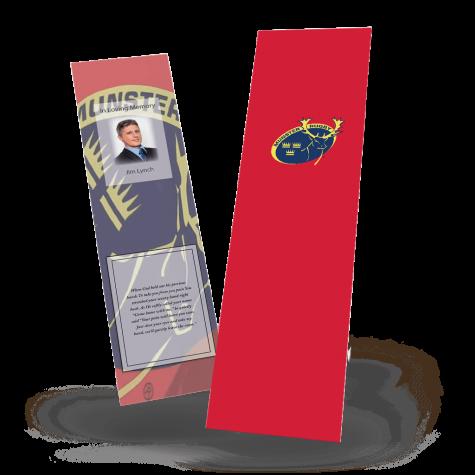 Munster Rugby Memorial Bookmark