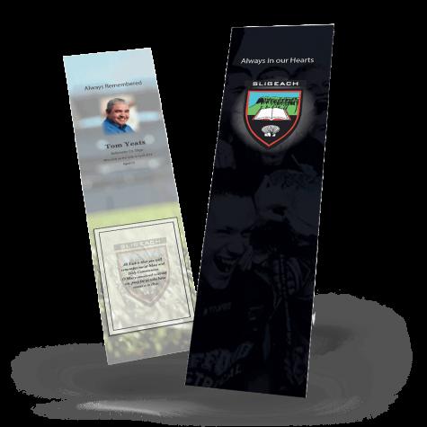 Sligo Memorial Bookmark
