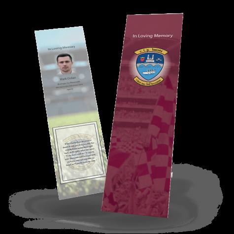 Westmeath Memorial Bookmark