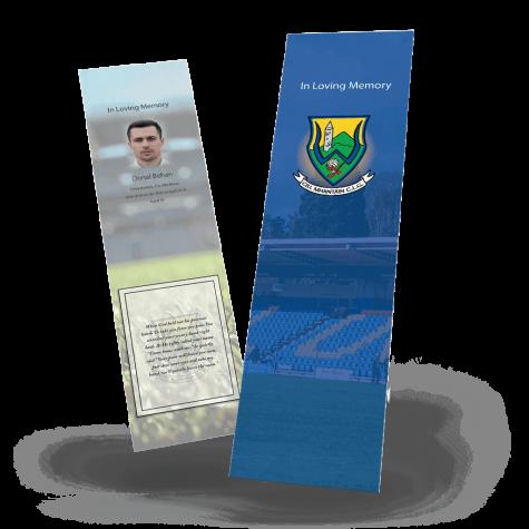 Wicklow Memorial Bookmark