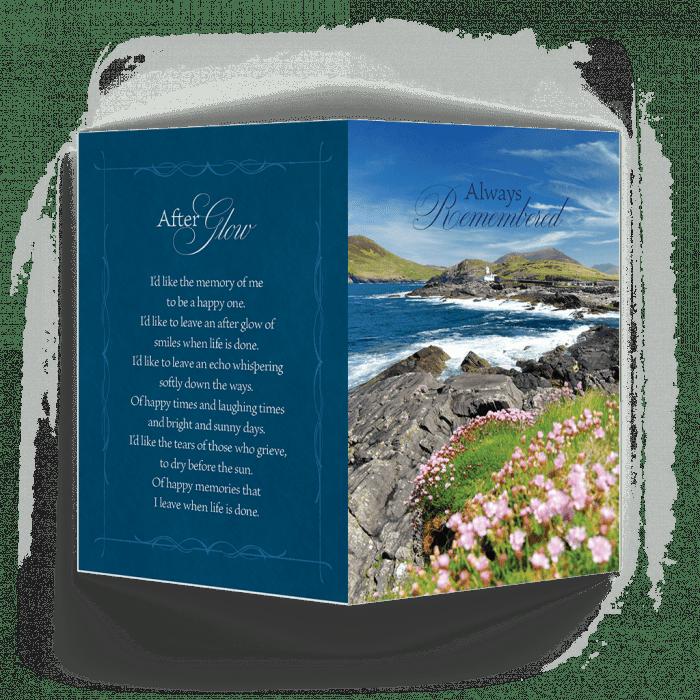 Scenic Ireland Memorial Card