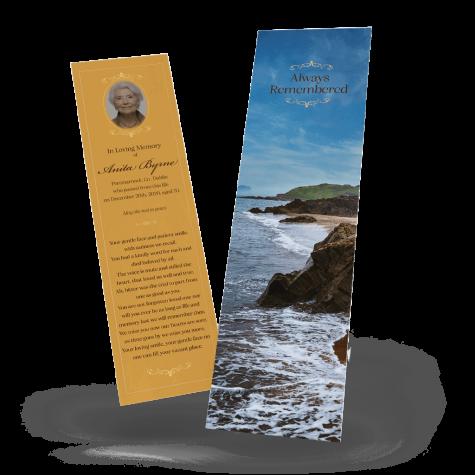 Irish Coast Memorial Bookmark
