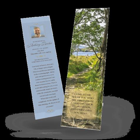 Irish Countryside Memorial Bookmark