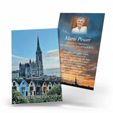Cobh Cathedral Wallet Card