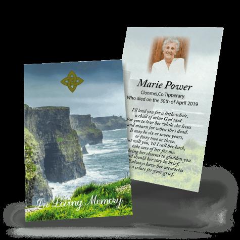 Cliffs of Moher Wallet Card